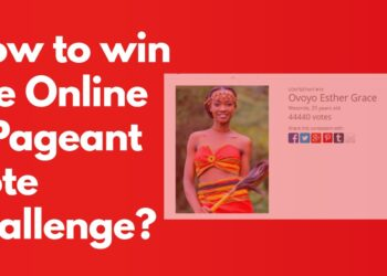 How to win the Online Pageant vote challenge?